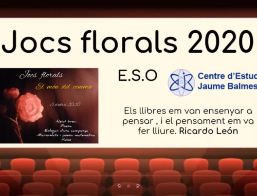 JOCS FLORALS ALUMNES D'ESO